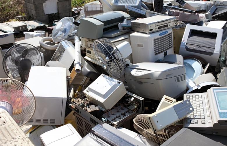 回収された不用品の流れ