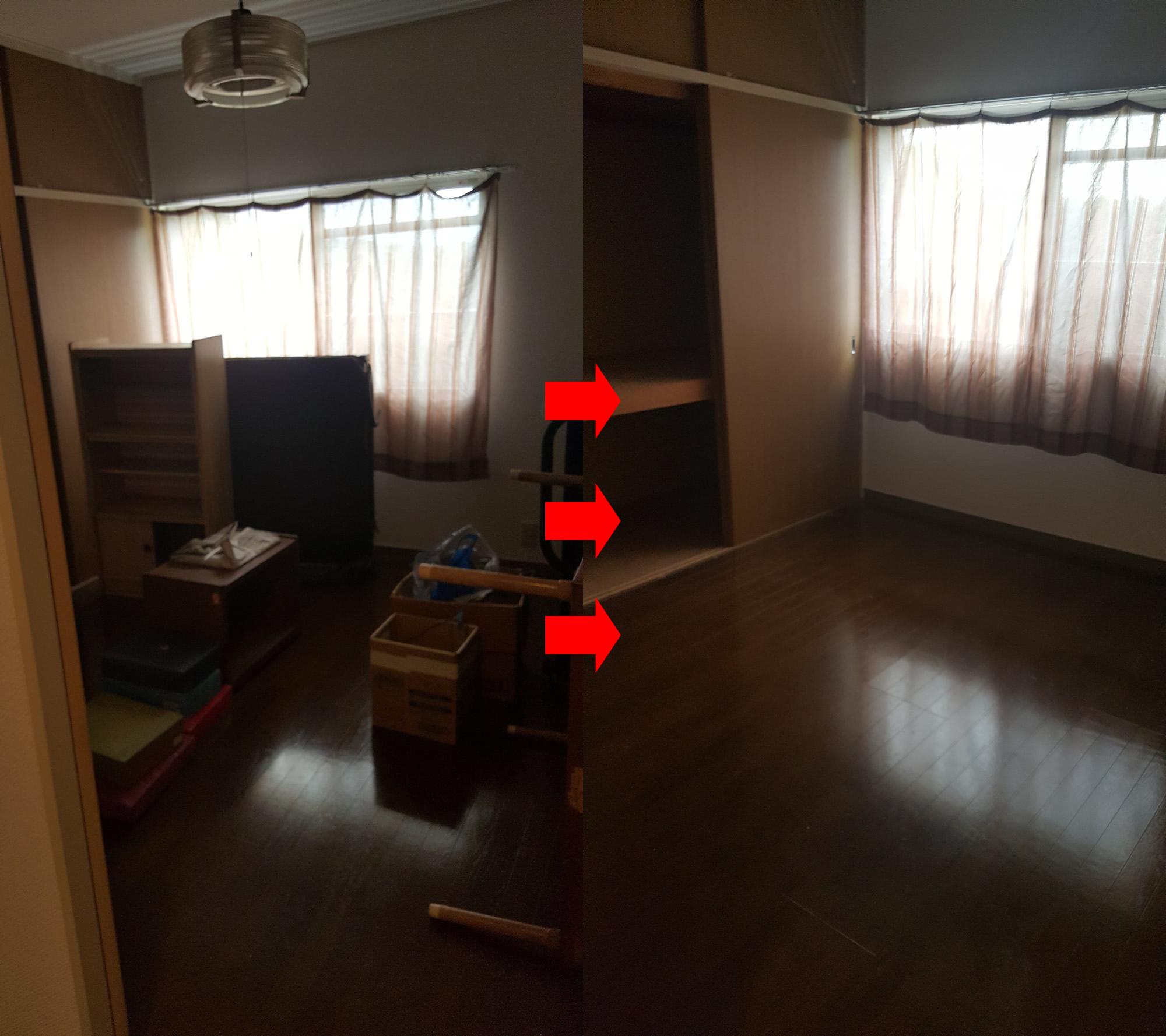 【国東市】遺品整理に伴う不要家具や仏壇の回収