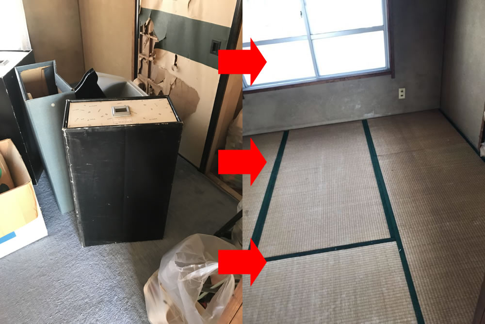 【中巨摩郡昭和町】レンジ台、ガスコンロ、布団、五月人形、金庫、雑貨、など不用品回収