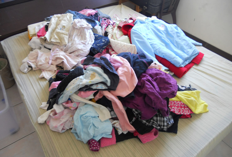衣類の片付けに悩んでいる人にうってつけの4つのコツ