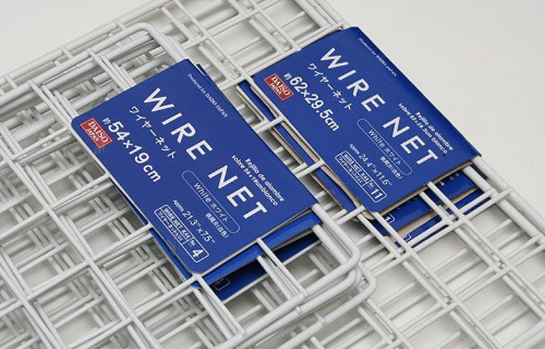 ワイヤーネットと焼き網で何でも作れる