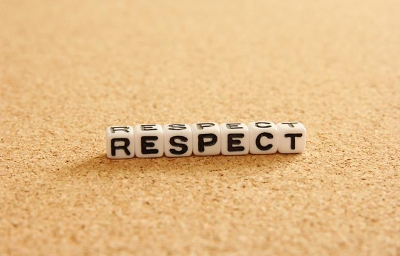 相手の意見を尊重する