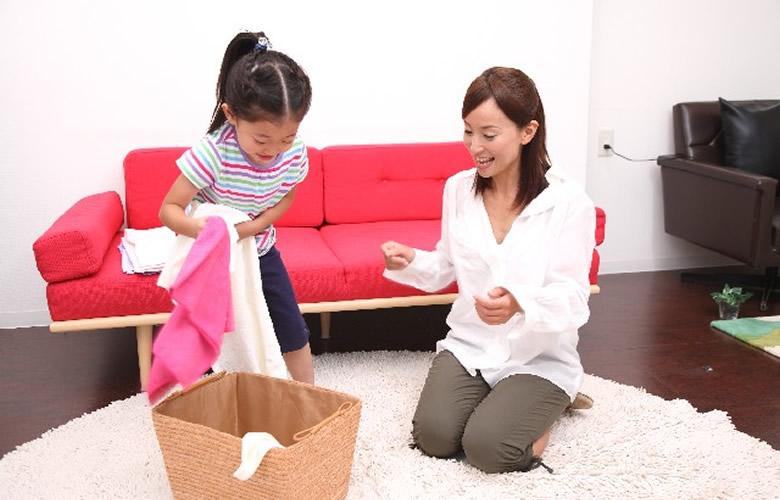 3つの子供の物の片付け・収納方法