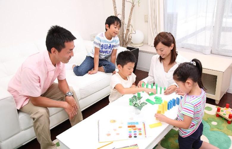 幼児に関わる物の片付け・収納のやり方