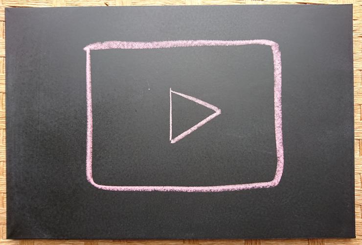 画像、動画、映画を見ながら