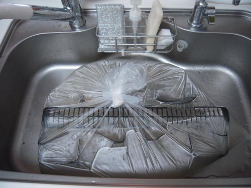 ガスコンロ周りの掃除方法