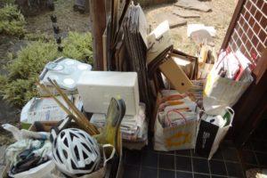岡山市北区広瀬町で軽トラ1台分程度の不用品処分