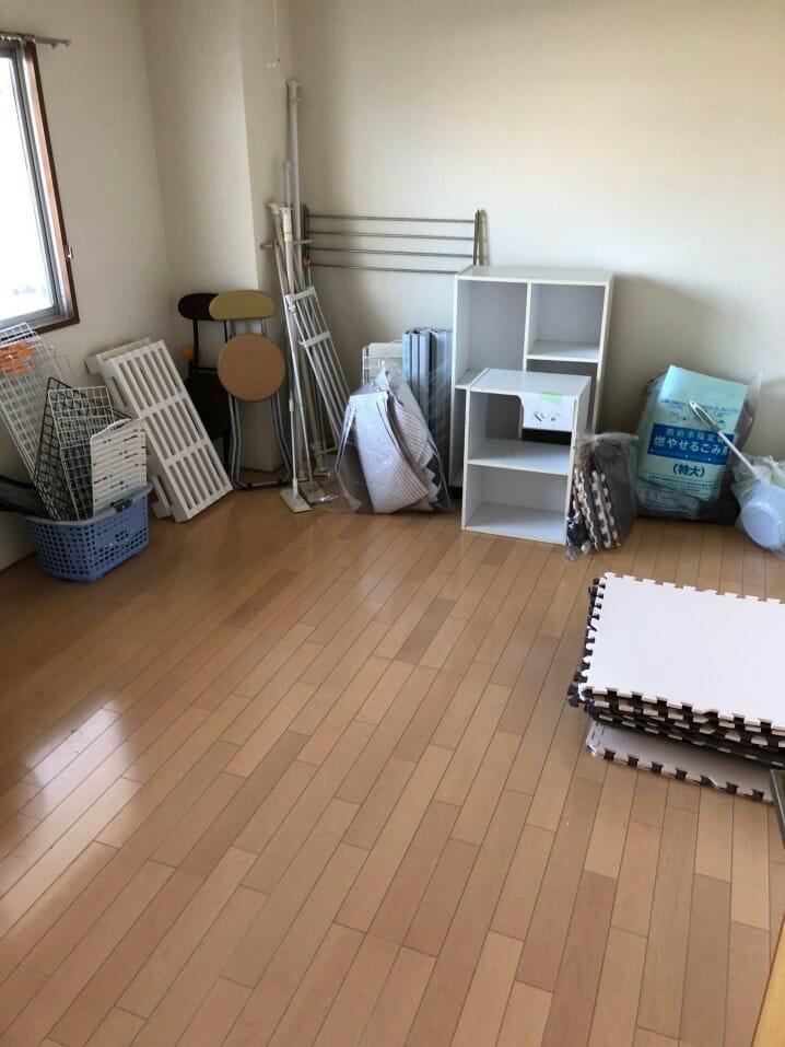 【防府市高倉】ご希望の日程で対応☆引っ越しで出た不用品をまとめて回収いたしました。