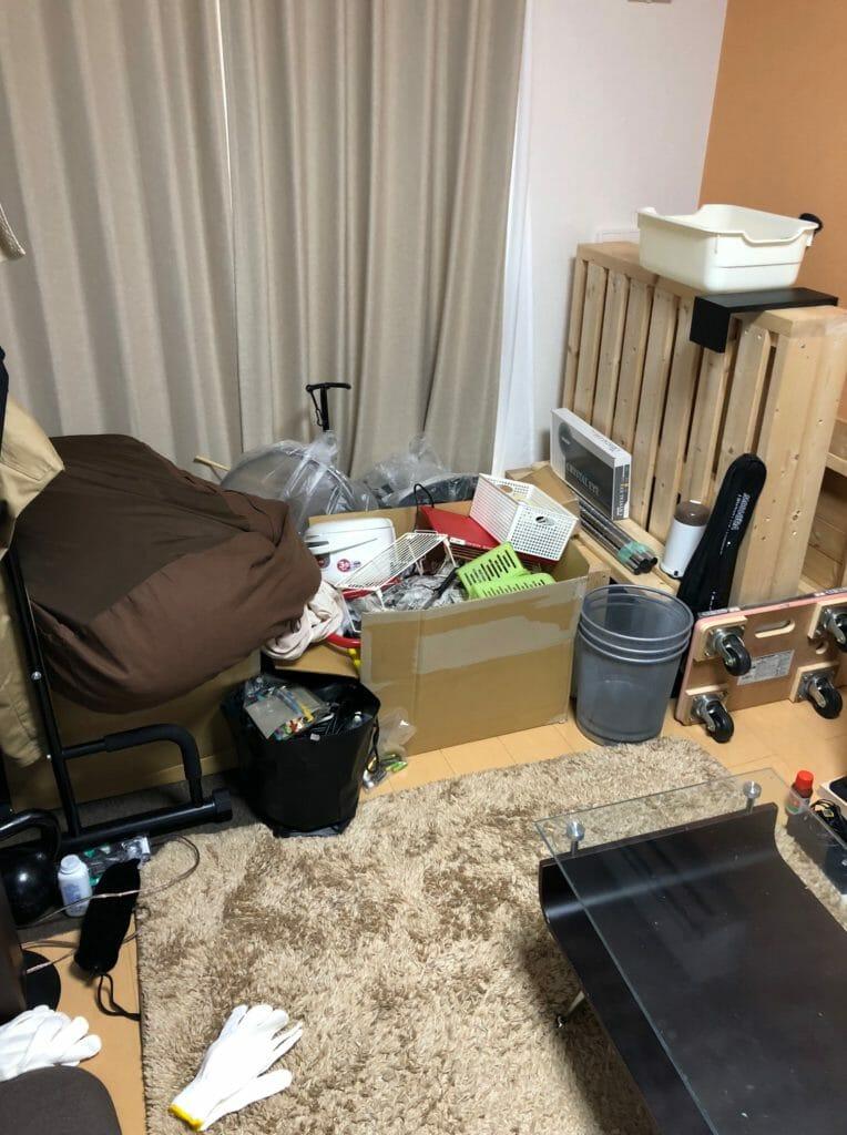 【周南市室尾】引っ越しに伴う不要品の回収!処分に困っていたバイク用品もまとめて回収でき、大変お喜びいただけました。