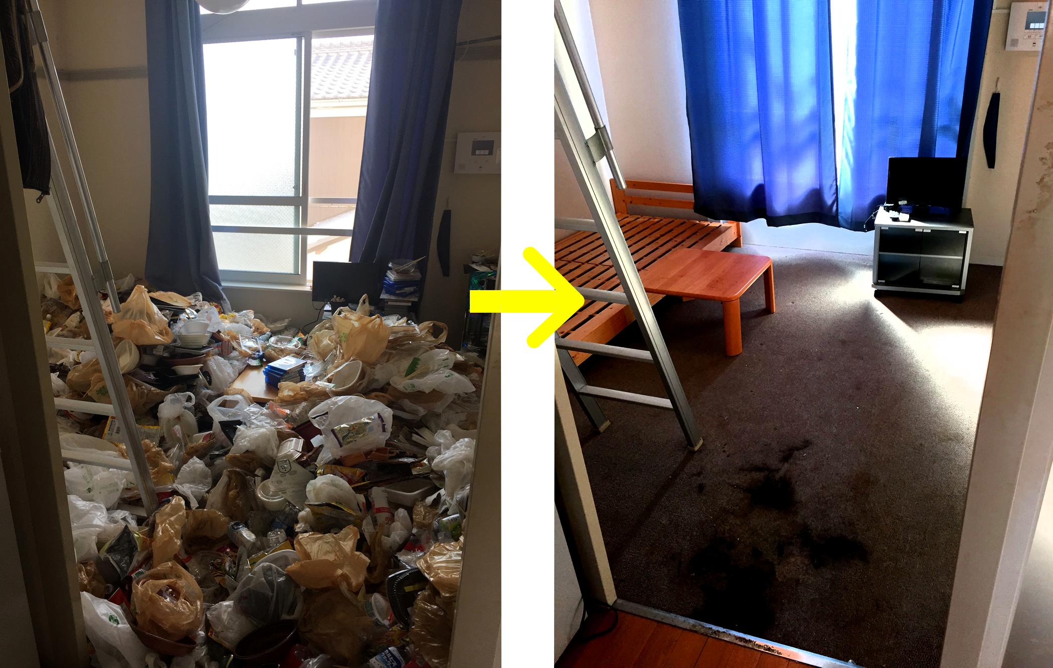 汚してしまった部屋を1日で効率よくキレイに片付ける6つのコツ