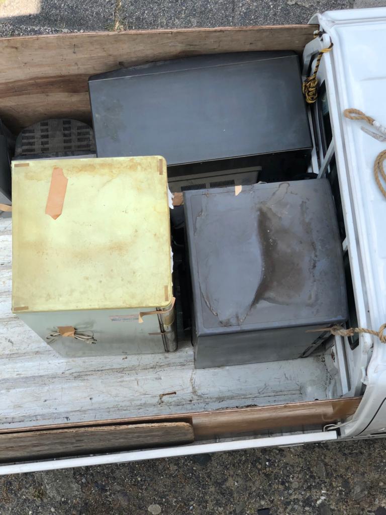 【近江八幡市】洗濯機・冷蔵庫などの大型の電化製品を回収いたしました!