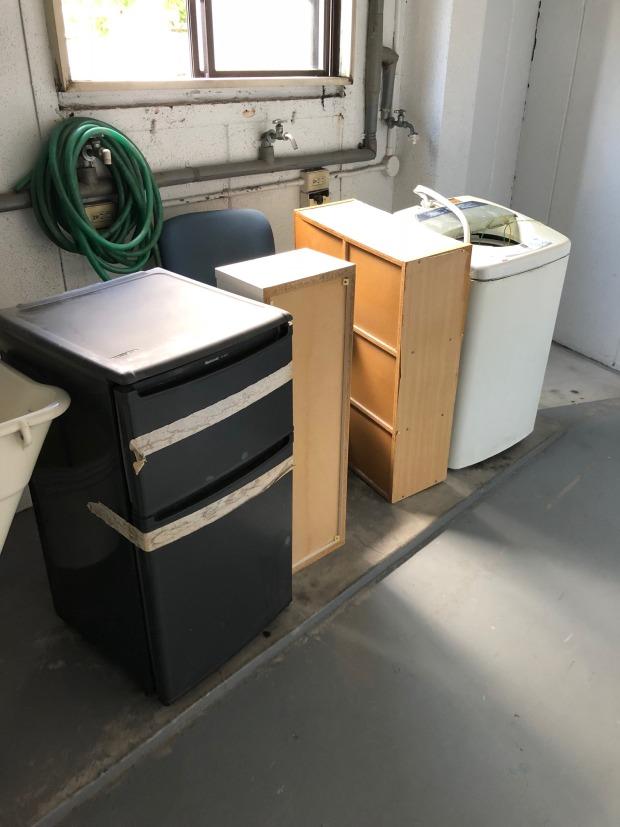 【京都市伏見区】電化製品と家具の回収☆迷っている処分品があっても相談しやすくて安心、と喜んでいただけました。