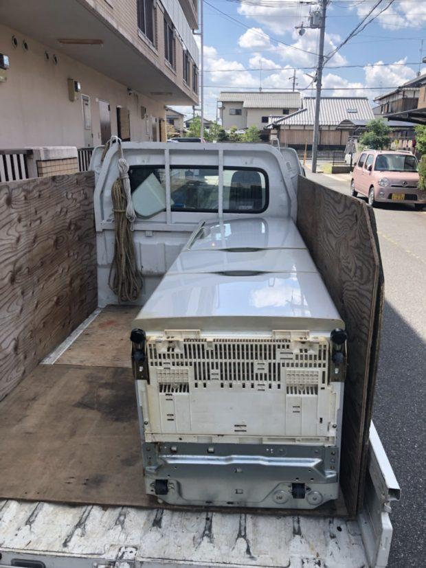 【京都市山科区】お引っ越しに伴う家具・家電の回収☆お客様の予定に合わせた日程での対応にお喜びいただけました。