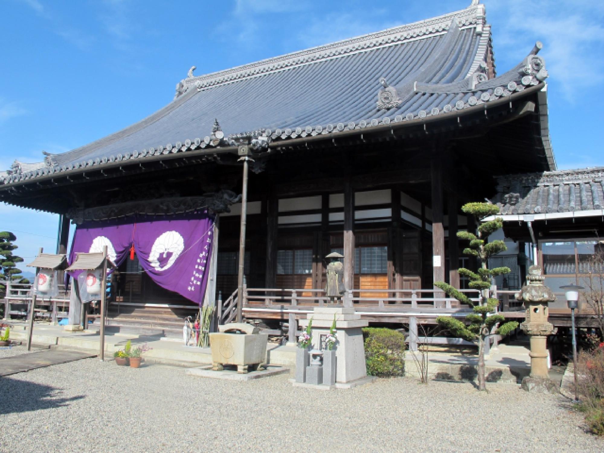方法(1) お寺