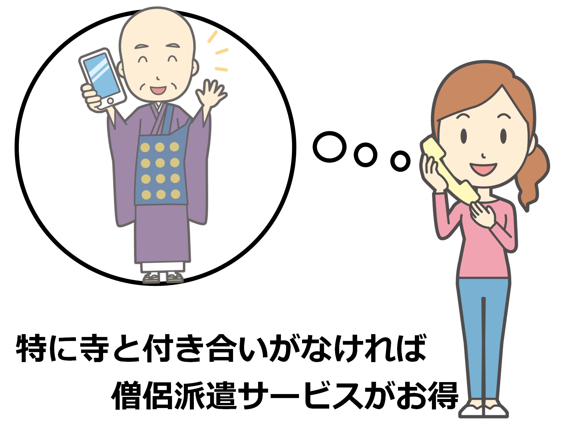 (2)僧侶派遣サービス