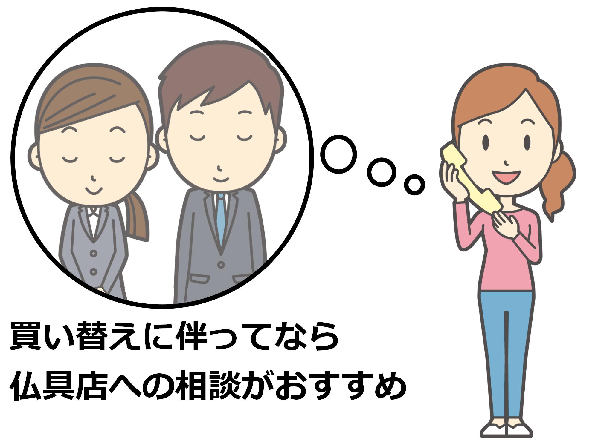 (3)仏具店