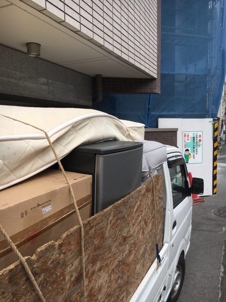 【京都市中京区】家具や家電の回収!前日のご依頼でも問題なく対応することができ、喜んでいただくことができました。