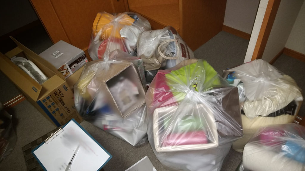 【徳島市中吉野町】アパート1室分の不用品回収!迅速な作業や希望日での対応にご満足いただけました。