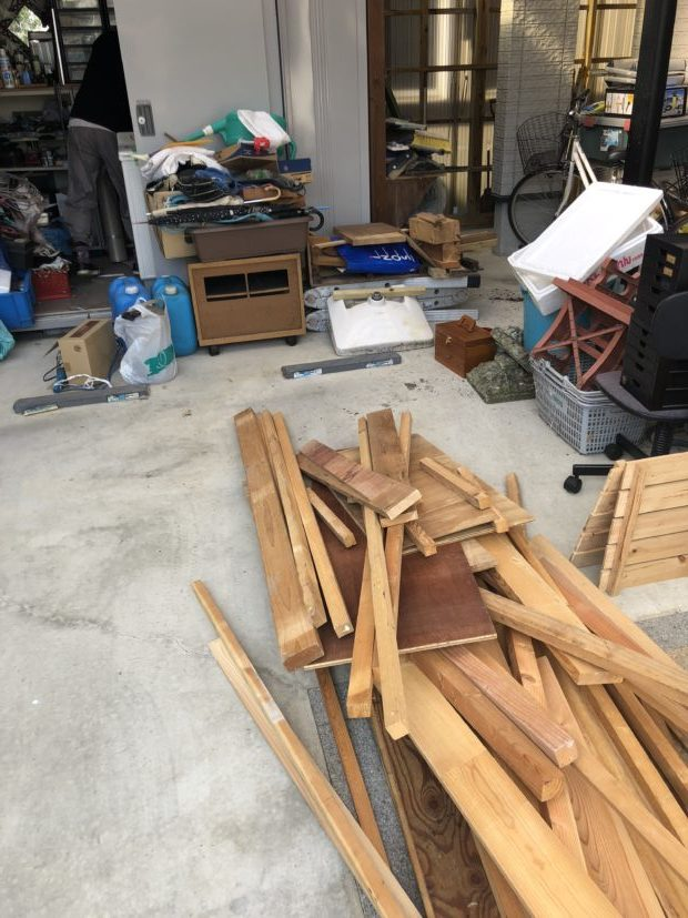 【近江八幡市】倉庫内の不用品の回収!キャンペーンの適用で回収費用が安くなりお喜びいただけました。