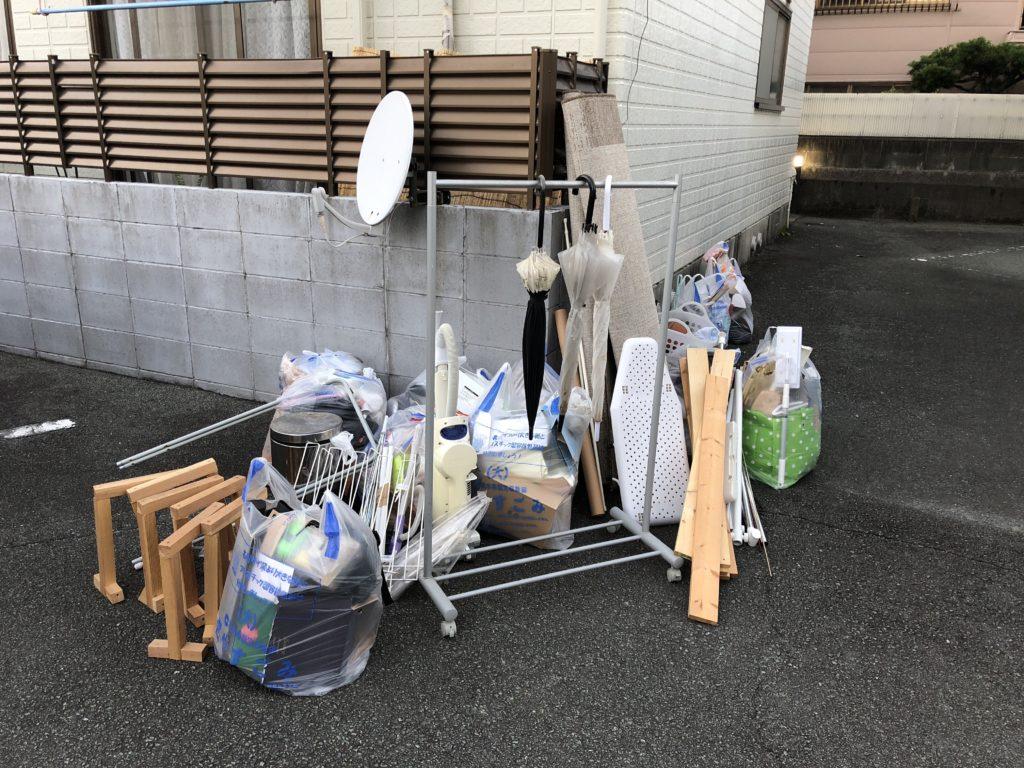 【熊本市中央区】お引っ越しに伴う不要品回収☆作業担当者から事前に詳細金額を確認できて安心と、ご満足いただけました!