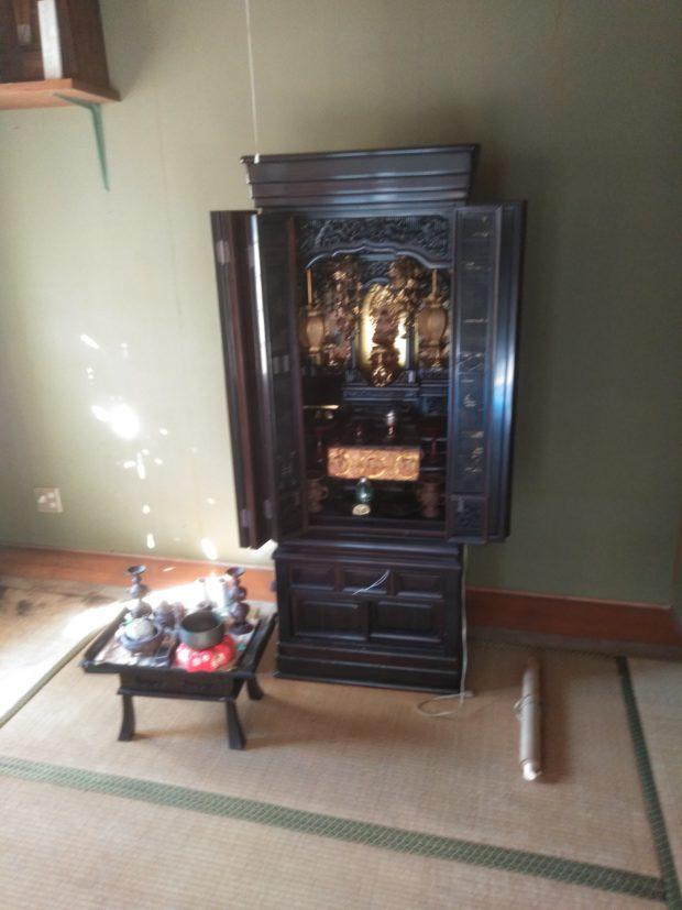 【三豊市仁尾町】お仏壇・神棚を回収いたしました!当社の料金やサービスにご満足いただくことができました。