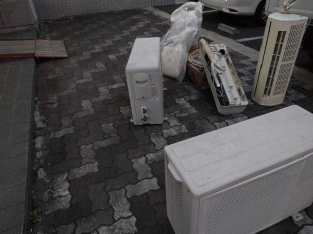 【水戸市元吉田町】エアコン2点の回収☆即日回収で処分を急いでいるお客様にお喜びいただけました!
