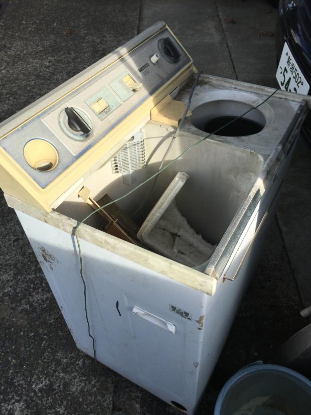【新潟市中央区】洗濯機の回収☆「なるべく早めに」と急いでいるお客様に、即日回収でのスピーディーな対応にご満足いただけました!