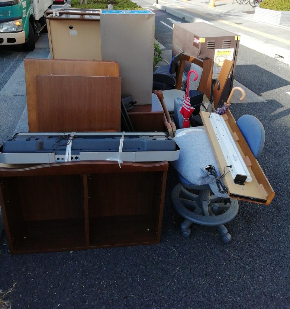 【京都市下京区】学習机などの回収☆料金の安さや柔軟な対応にご満足いただけました!