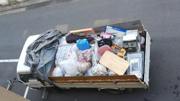 【福山市沼隈町】2トントラック1台程度の不用品回収☆増えすぎた不用品をまるごと処分でき、「また困ったらお願いしたい。」とご満足いただくことができました!