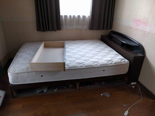 【北九州市戸畑区】婚礼ダンスなど大型家具の回収☆重量のある家具も短時間で搬出し、作業の早さにご満足いただけました!