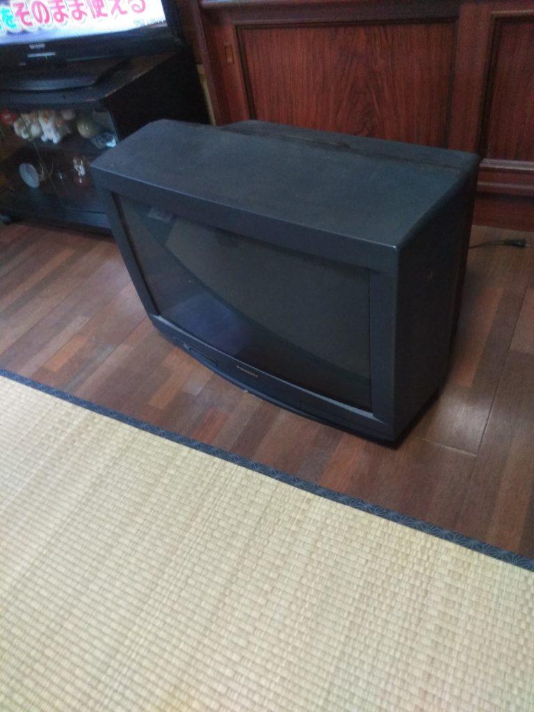 【南宇和郡愛南町】ブラウン管テレビ2台の回収☆お客様のご希望の日程での対応にご満足いただけました!