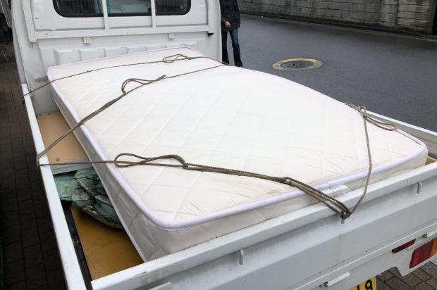 【千葉市稲毛区】ベッドの回収☆お引っ越し前の急なご依頼にも対応でき、お客様にお喜びいただけました!