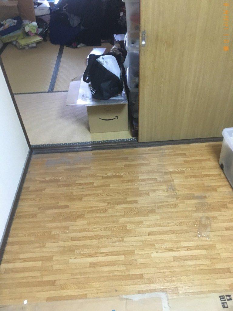 【北九州市小倉北区】タンスや棚など回収のご依頼 お客様の声