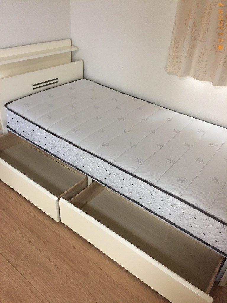 【福岡市城南区】シングルベッド回収のご依頼 お客様の声