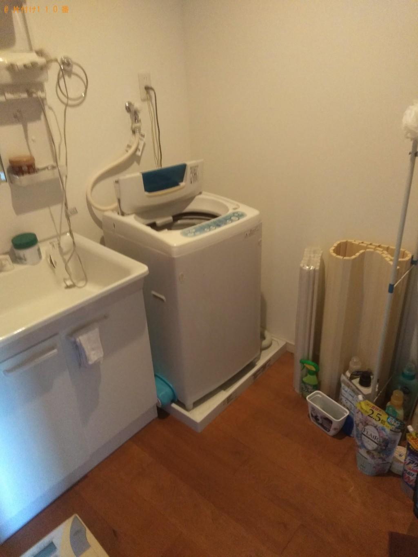 【今治市】洗濯機、ベッド、テレビ台回収のご依頼 お客様の声