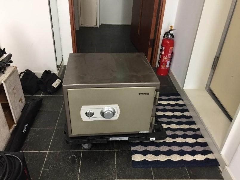 40kg前後家庭用耐火金庫