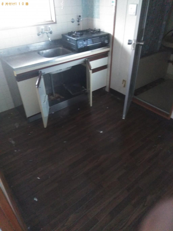 【松山市土橋町】冷蔵庫や食器棚など家具家電回収 お客様の声