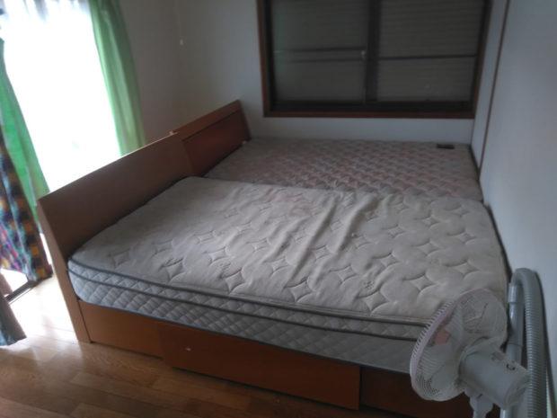 【今治市高橋】ソファーやベッドの回収☆短時間で搬出し、片付いたお部屋にお喜びいただけました!