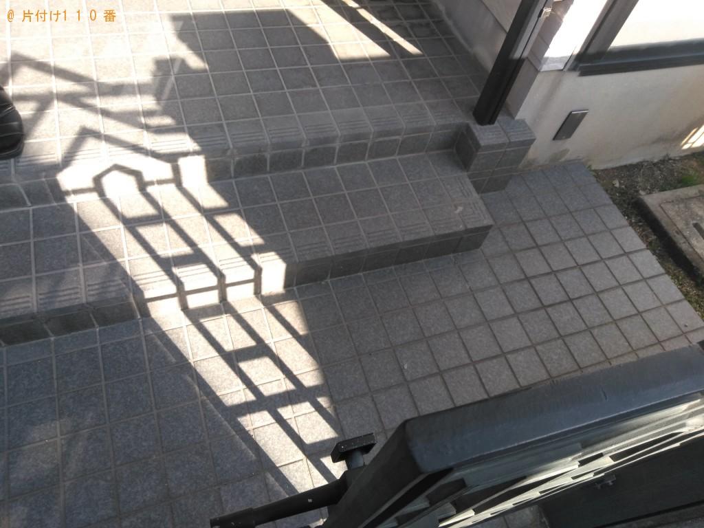 【松山市】軽トラック半分ほどの量回収ご依頼 お客様の声
