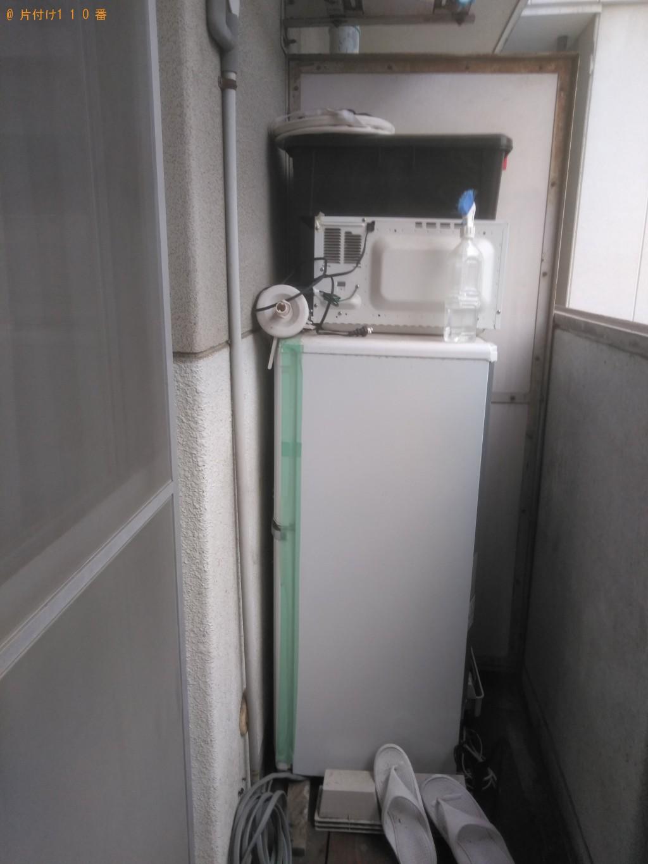 【松山市一番町】軽トラック1台分の家具家電類回収 お客様の声