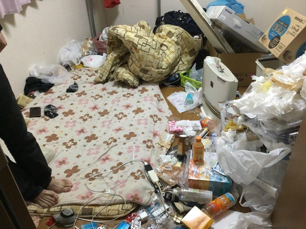 【猪名川町】引越しに伴い生活ゴミやベッドなど回収 お客様の声