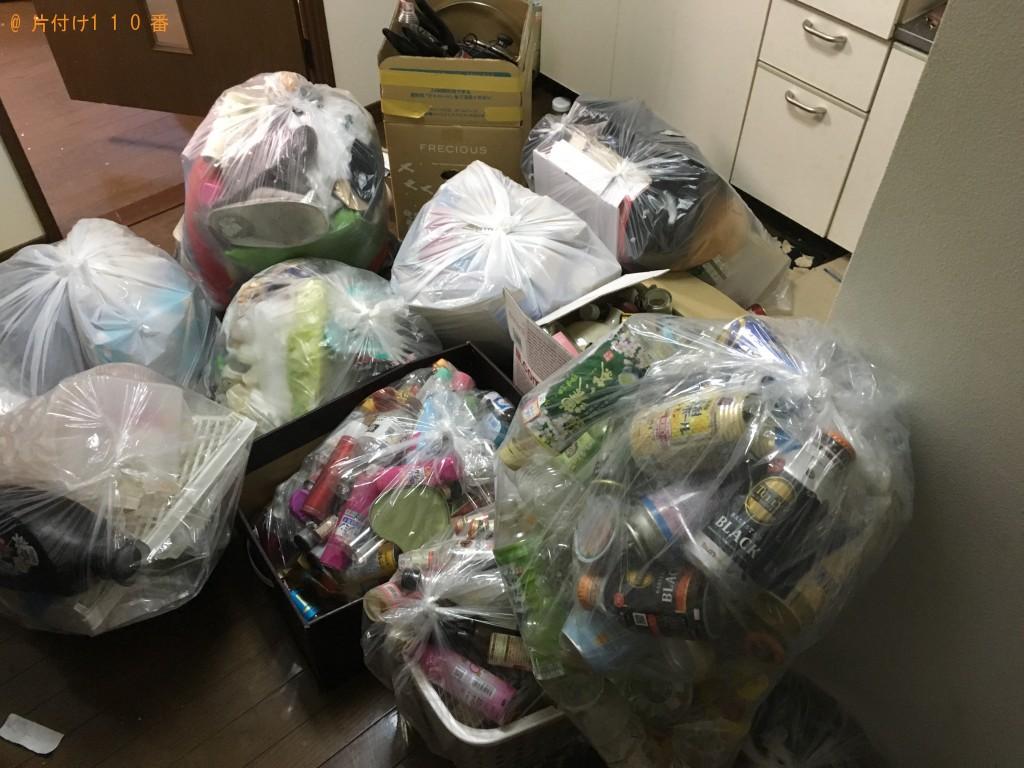 【松山市】ゴミ袋にまとめた家庭ゴミ回収のご依頼 お客様の声