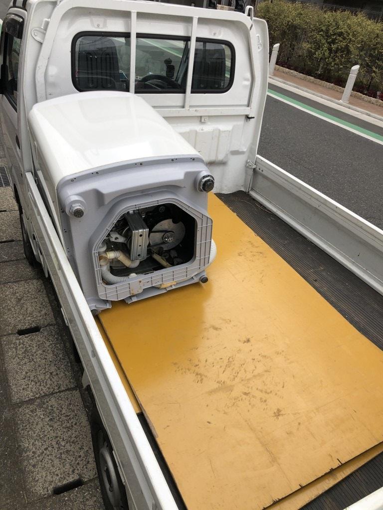 【千葉市稲毛区】洗濯機の出張不用品回収・処分ご依頼 お客様の声
