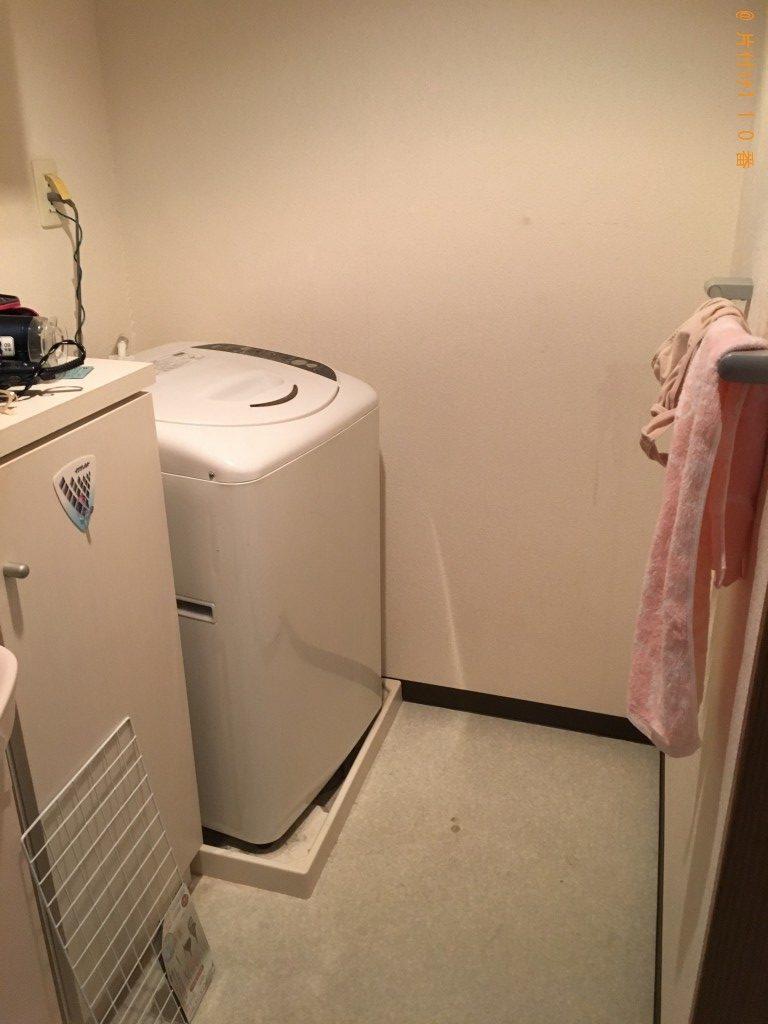 【松山市】テレビと洗濯機回収のご依頼 お客様の声