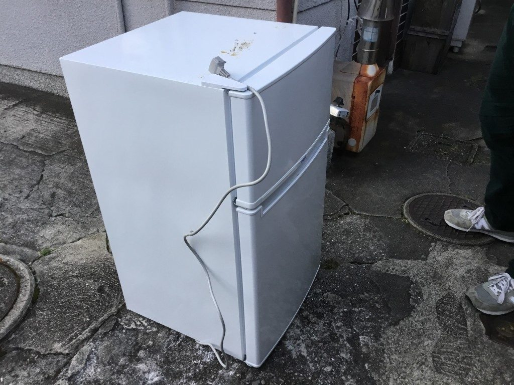 【川西市】冷蔵庫1点回収のご依頼 お客様の声