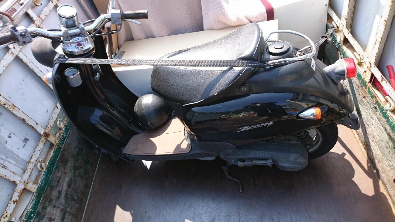 バイク回収事例