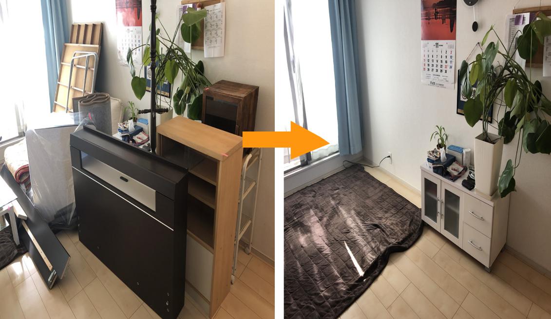 家具の引き取り施行事例3