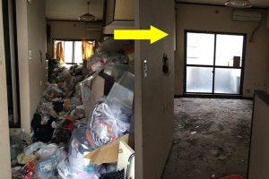 【四日市市】ゴミ屋敷の片付け依頼☆柔軟な対応のおかげでようやく片付いた、と喜んで頂けました!