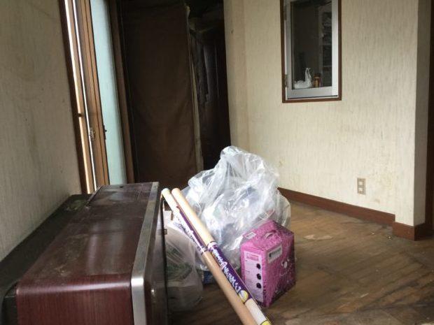 【前橋市粕川町】ご自宅の整理に伴う不要品回収☆きれいに片付いたお部屋にご満足いただけました!