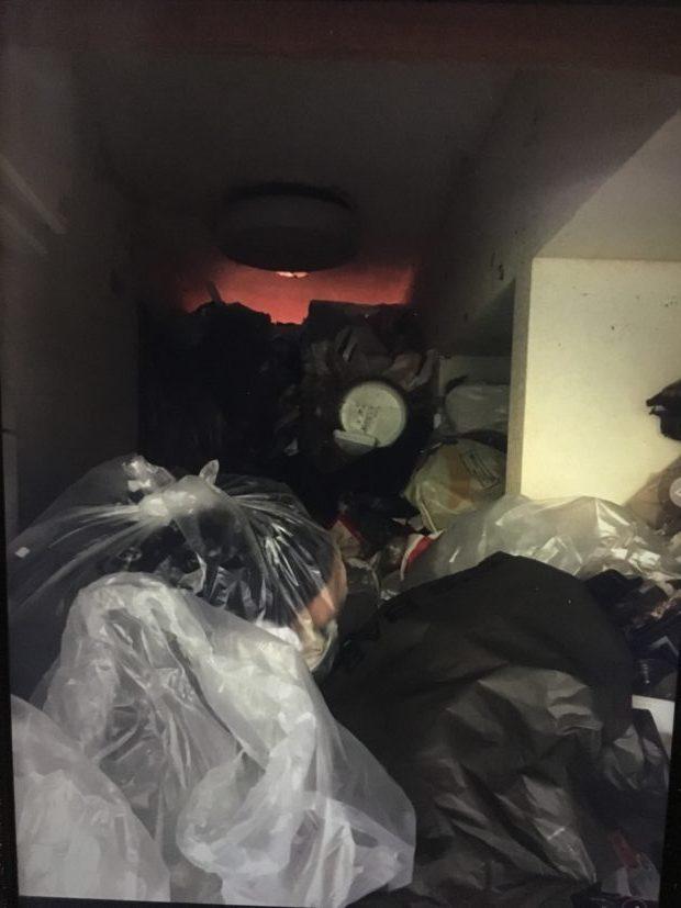 【亀岡市】アパート1室分のごみの回収☆ごみの山がなくなり、お喜びいただけました!